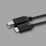USB-C - USB 2.0 BM kábelek