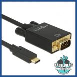 USB-C - VGA kábelek