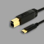 USB-C - USB 3.0 BM kábelek