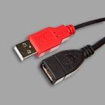USB 2.0 adat és tápkábelek