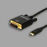 USB-C - DVI-D kábelek
