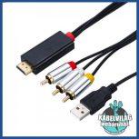 HDMI - RCA kábelek