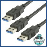 USB 3.0 adat és tápkábelek