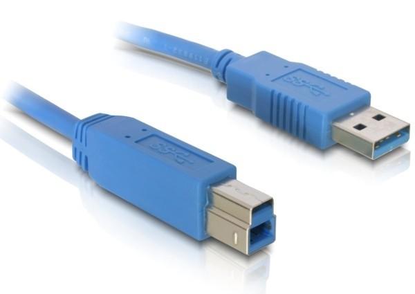 Delock USB 3.0 AM-BM 5m kábel (82582)