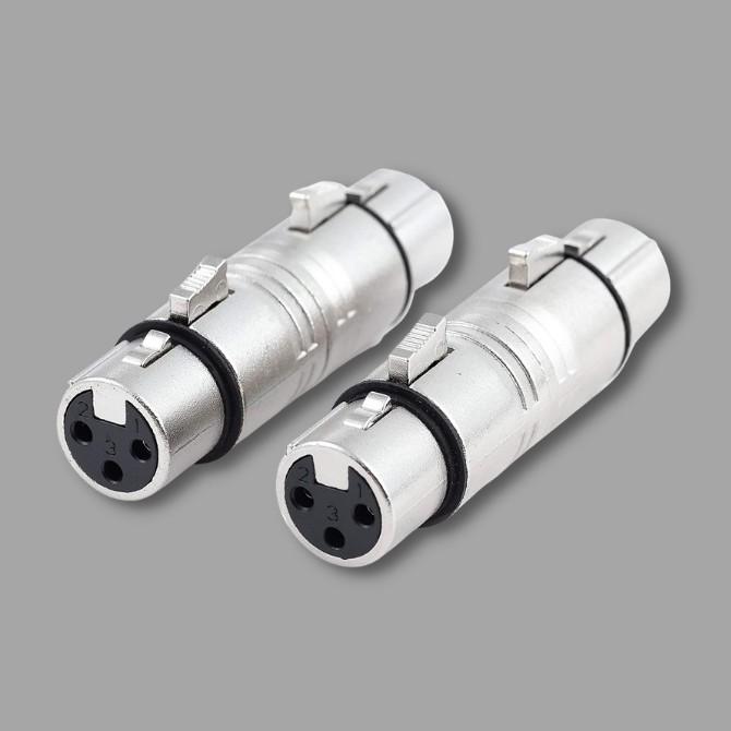 XLR adapterek