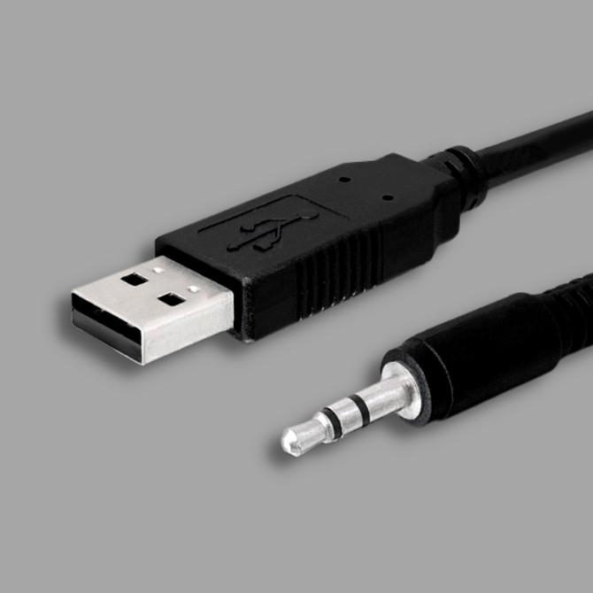 USB 2.0 apa - Jack 3.5 kábelek