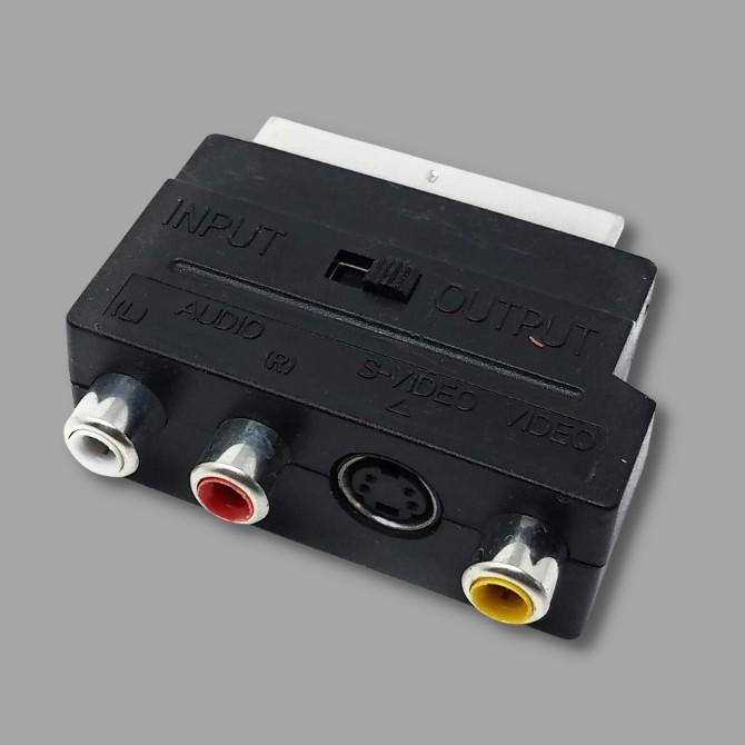 SCART adapterek, átalakítók