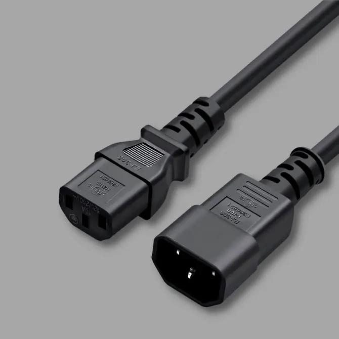 PC tápkábel hosszabbítók (C13/C14)