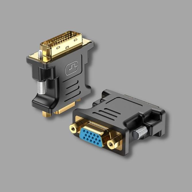 DVI - VGA adapterek, átalakítók
