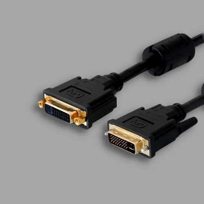 DVI-D hosszabbító kábelek