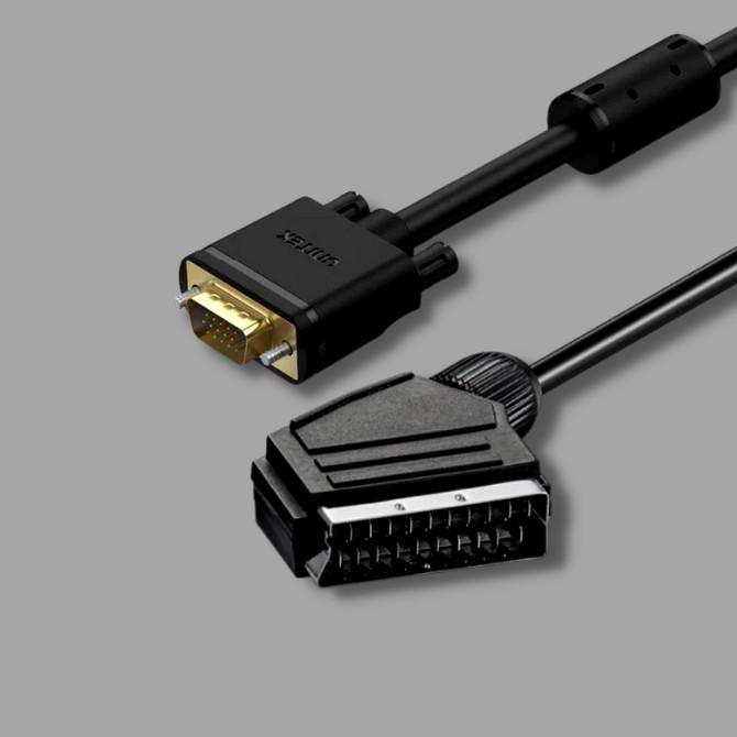SCART - VGA kábelek